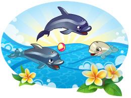 картинки для класса дельфины наш девиз мама достала полки